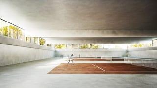 TC Old Boys will eine eigene Tennishalle
