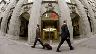 UBS findet 10-Millionen-Busse «ungerechtfertigt hoch»