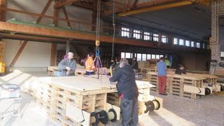 3500 Holzroste «Made in Kleindöttingen»