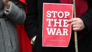 Tausende warten in Aleppo auf Rettung – Demonstrationen in Europa