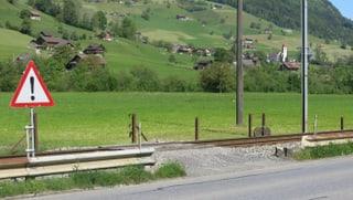 Bahnübergänge im Engelbergertal: der Grossteil muss weg