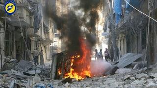 Assads Truppen greifen Aleppo jetzt auch am Boden an