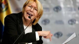 Abgesetzte Staatsanwältin bezichtigt Maduro der Korruption
