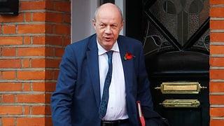 Kabinettschef Damian Green tritt zurück