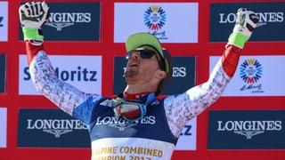 Aerni erobert sensationell Kombi-Gold, Caviezel holt Bronze!