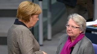 Merkel hat «volles Vertrauen» in Schavan