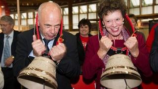 Ueli Maurer und Esther Gassler eröffnen Olma