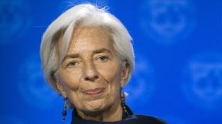 IWF-Chefin Lagarde reicht ihren Rücktritt ein