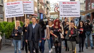 Prostituierte fordern sichere Arbeitsplätze in Basel