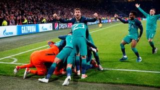 Tottenham vom 0:2 zum 3:2 und in den CL-Final