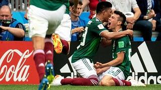 Deutschland stolpert über Mexiko