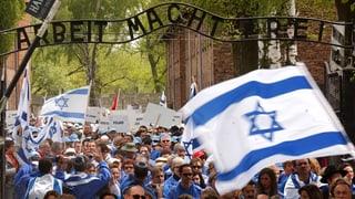«Marsch der Lebenden»: Gedenken in Auschwitz-Birkenau
