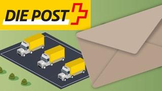 Post löst Lastwagenflotte auf
