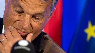 Orbans EU-Stern sinkt weiter