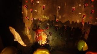 Emprima perfuraziun gartegiada al tunnel da l'Alvra (Artitgel cuntegn video)