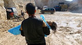 Syrien produziert offenbar weiterhin C-Waffen