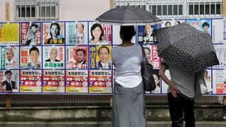 Wahl in Japan soll Weg für umstrittene Verfassungsänderung ebnen