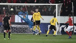 Vom 0:2 zum 5:2: Nati begeistert gegen Belgien