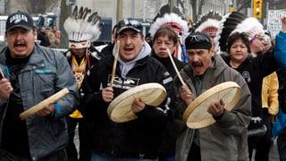Kanadas Ureinwohner proben den Aufstand