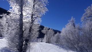 Stellenweise überdurchschnittlich Schnee
