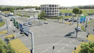Neue Autobahnzufahrt Lenzburg biegt auf Zielgerade