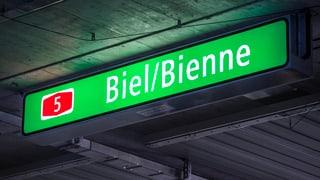 Biel-Bienne will zweisprachig angeschriebene Autobahn