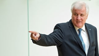 Seehofers Ultimatum an Merkel
