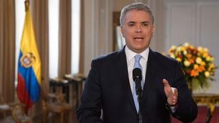 Kolumbiens Präsident kündigt Einsatz gegen Farc-Anführer an