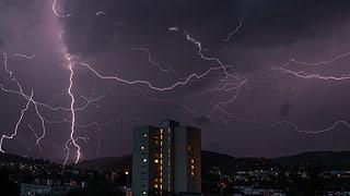 Die eindrücklichsten Gewitterbilder
