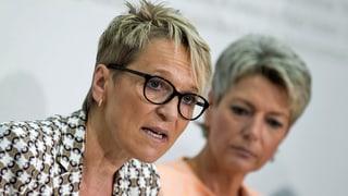 Rita Fuhrer will nicht Ständerätin werden - SVP sucht Ersatz