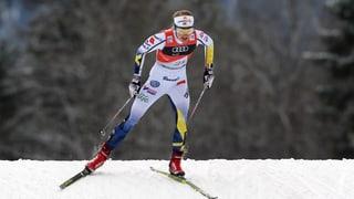 Tour de Ski: Nathalie von Siebenthal vegn setavla