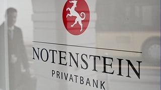 Aus Notenstein wird Notenstein La Roche Privatbank