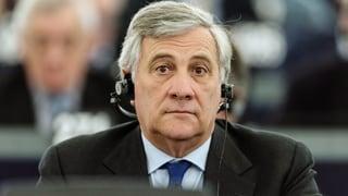 Tajani zum Präsidenten des EU-Parlaments gewählt