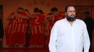 Olympiakos-Präsident schickt ganzes Team in die Ferien