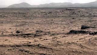 «Curiosity» stösst auf Kohlenwasserstoff – Herkunft unklar