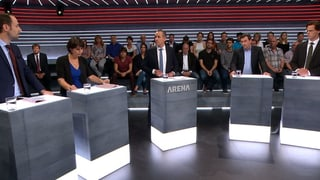 «Abstimmungs-Arena»: Nachhaltig leben – aber wie?