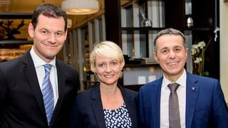 Die Fraktion schickt Ignazio Cassis, Isabelle Moret und Pierre Maudet ins Rennen um den frei werdenden Bundesratssitz.
