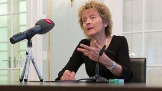 Widmer-Schlumpf zum UBS-Skandal: «Es erschüttert mich.»