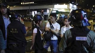 Kein Verständnis für Forderung nach mehr Demokratie in Hongkong