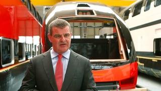 Spuhler bedauert geplatzte Fusion von Alstom und Siemens