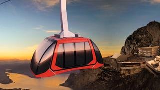 Die neue Luftseilbahn auf den Pilatus trotzt dem Wind