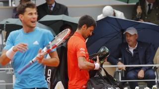 Entscheidung bei Djokovic - Thiem auf Samstag vertagt