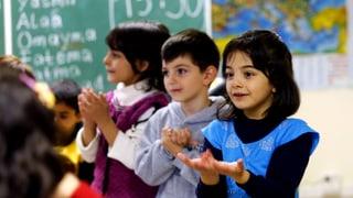 Eine Schule in Ostdeutschland überlebt dank Flüchtlingskindern