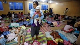Manila zittert vor Tropensturm «Hagupit»