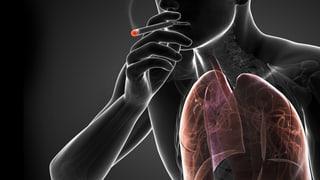 Viele Raucher sind kränker als sie meinen