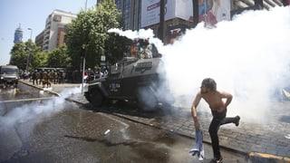 Protest gegen Chiles Pensionssystem eskaliert