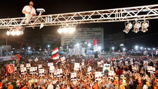 Kairo: Mursi-Camps aushungern