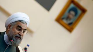 Rohani: «Ich werde dem Land dienen»