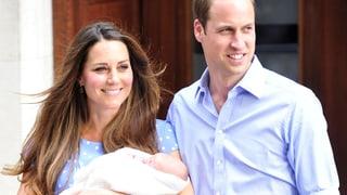 Baby George im Geburtenregister eingetragen