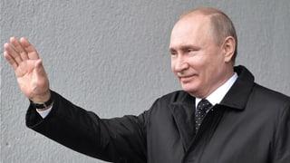 Putin inszenierte sich als Politiker von Weltformat